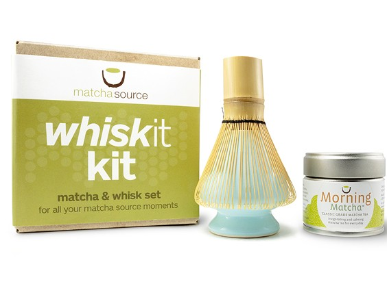 "Matcha ""WhiskIt"" Kit – 3 Piece Gift Set with Your Choice of Tea"
