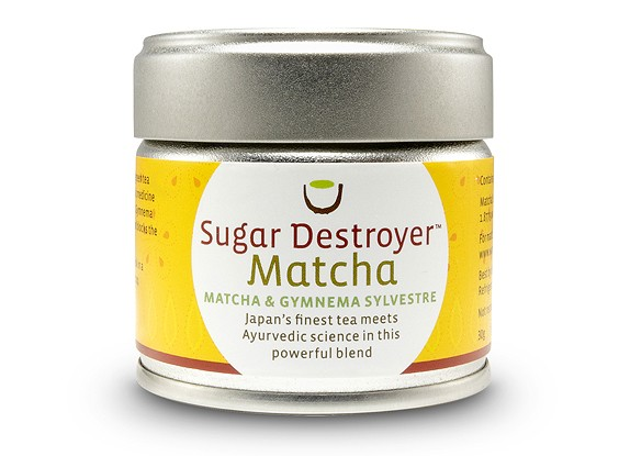 <em>Sugar Destroyer</em> Matcha Tea