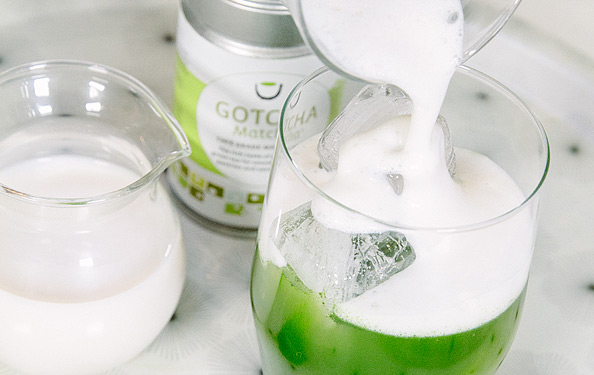 How to make Iced Matcha Green Tea Step Five