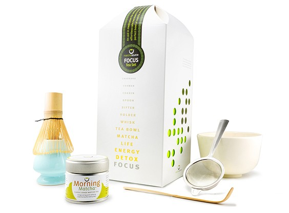 FOCUS Tea Gift Set – Complete Matcha Gift Set with Choice of Tea