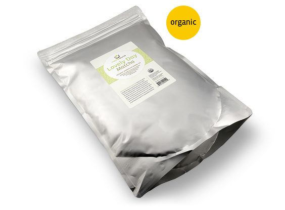 Ingredient Grade Lovely Day Organic Matcha Green Tea Powder – BULK 2.2 LBS