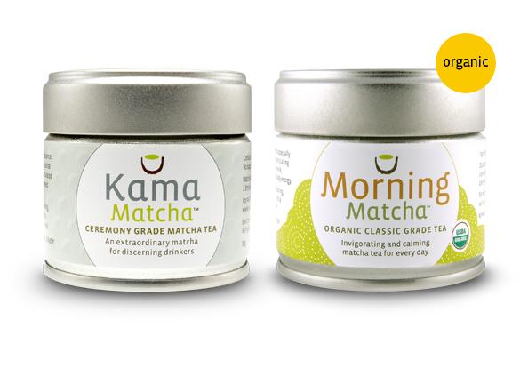 Kama and Organic Morning Matcha Bundle - Buy Both and Save 10%