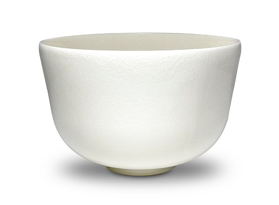 """Luminous"" Porcelain Matcha Bowl"