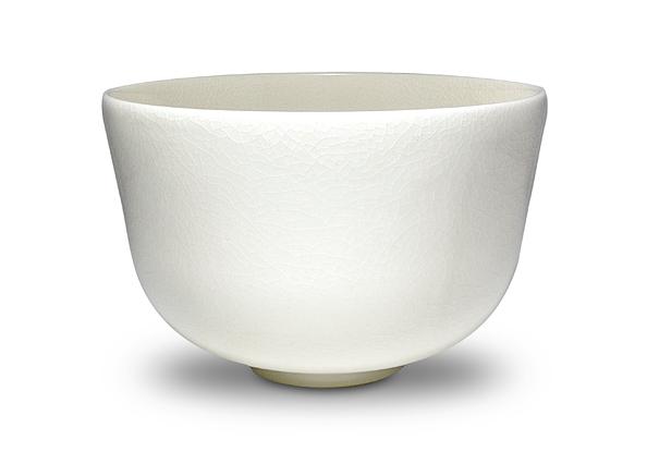 Luminous Porcelain Matcha Bowl