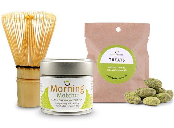 WhiskIt! Kit with TREATS and Choice of Matcha Tea