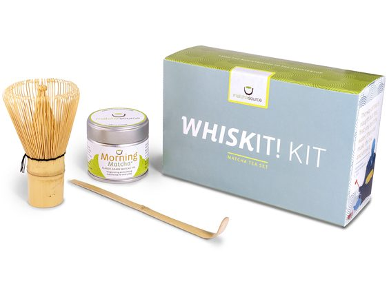 WhiskIt! Kit Matcha Gift Set – With Choice of Matcha Tea