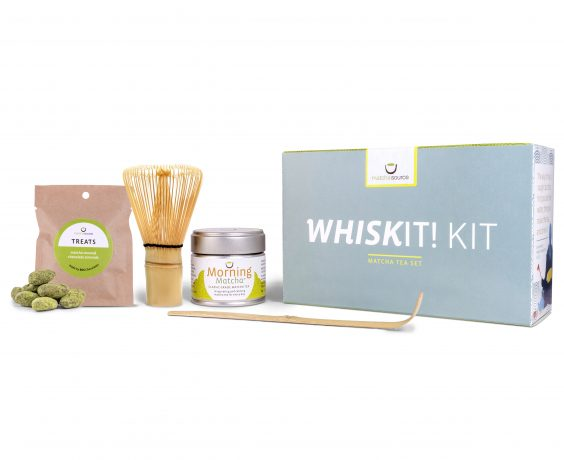 WhiskIt! Kit Matcha Gift Set- With Treats and Choice of Matcha Tea
