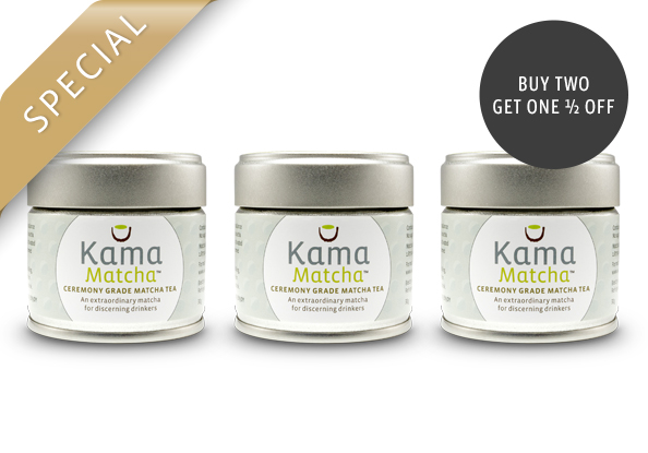 Emperor's Choice Bundle - Buy 2 Kama Matcha, Get 1 1/2 Off