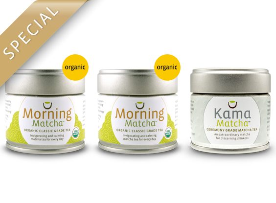 Early Harvest Bundle – Buy 2 Morning Matcha, Get 1 Kama 1/2 Off OUT OF STOCK TILL FEBRUARY
