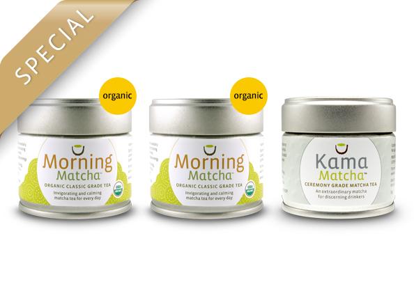 Early Harvest Bundle - Buy 2 Morning Matcha, Get 1 Kama 1/2 Off